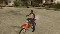 Honda CRF450R extreme Edition for GTA San Andreas