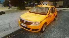 Dacia Logan Facelift Taxi for GTA 4