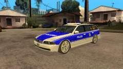 BMW 525i Touring Police