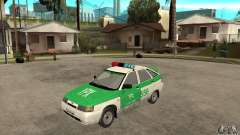 VAZ-2112 YPX Police for GTA San Andreas