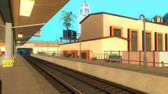 The high platforms at railway stations for GTA San Andreas