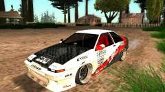 Toyota AE86 Coupe for GTA San Andreas