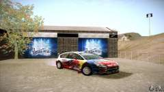 Citroen C4 WRC for GTA San Andreas