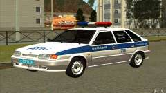 VAZ 2114 Police DPS for GTA San Andreas