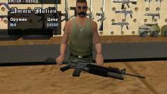 M16 with a M203