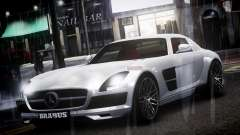 Mercedes-Benz SLS 2011 Brabus AMG Widestar v1.1 for GTA 4