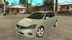 Kia Ceed 2011 for GTA San Andreas