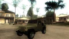 Jeep Wrangler 1986 4.0 Fury v.3.0 for GTA San Andreas