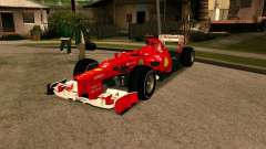 Ferrari Scuderia F2012 for GTA San Andreas
