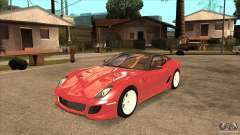 Ferrari 599 GTO 2010 V1.0 for GTA San Andreas