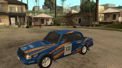 Volvo 242 Lightspeed Rally Edition for GTA San Andreas