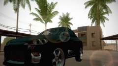 Nissan Silvia S15 black for GTA San Andreas