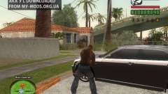 Piss Piss mod for GTA San Andreas