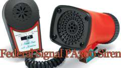 Federal PA300 siren