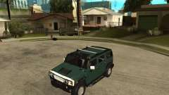 AMG H2 HUMMER SUV for GTA San Andreas