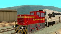 Locomotive LDH 18 for GTA San Andreas