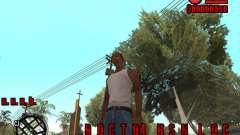 HUD by Russkiy for GTA San Andreas