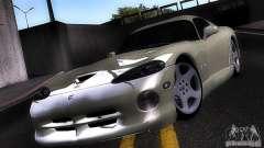 Dodge Viper white for GTA San Andreas
