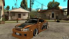 Nissan Skyline GTR - EMzone B-day Car for GTA San Andreas