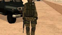 Ranger Army Skin Mod for GTA San Andreas