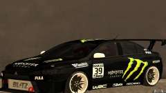 Mitsubishi Lancer Evolution X Monster Energy for GTA San Andreas