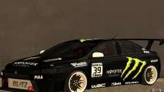 Mitsubishi Lancer Evolution X Monster Energy