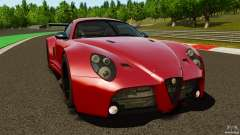 Alfa Romeo 8C Competizione Body Kit 2 for GTA 4