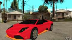 Lamborghini Murcielago LP650 for GTA San Andreas