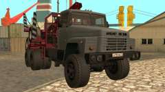 KrAZ-255 timber carrier