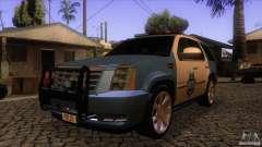 Cadillac Escalade 2007 Cop Car for GTA San Andreas