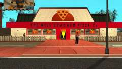 Buying pizza