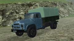 ZIL 130 Flatbed turquoise for GTA San Andreas