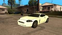 Jaguar XK white for GTA San Andreas