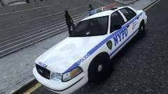 Ford Crown Victoria NYPD 2012 for GTA 4