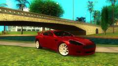 Aston Martin DB9 Burgundy for GTA San Andreas