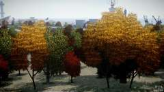 Realistic trees 1.2 for GTA 4