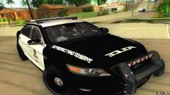 Ford Taurus 2011 LAPD Police for GTA San Andreas