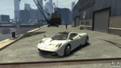 Pagani Huayra white for GTA 4