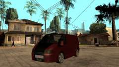 Ford Transit Tuning for GTA San Andreas