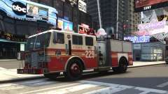 Fire Truck FDNY for GTA 4