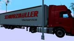 Trailer for Volvo FH13