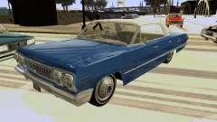 Chevrolet Impala 4 Door Hardtop 1963
