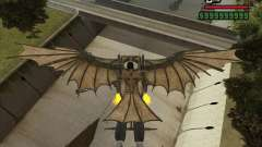 Flying machine by Leonardo da Vinci for GTA San Andreas
