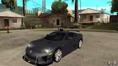 Lexus LFA 2010 v2 for GTA San Andreas