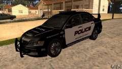 Mitsubishi Lancer Evo VIII MR Police for GTA San Andreas