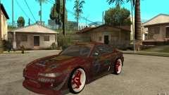 Nissan Silvia HKS Genki for GTA San Andreas