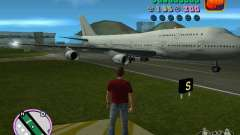 Boeing 747 for GTA Vice City