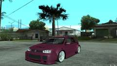 Volkswagen Golf GTI 4 Tuning for GTA San Andreas