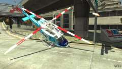 NYPD Bell 412 EP for GTA 4