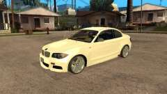 Bmw 135i coupe Police for GTA San Andreas